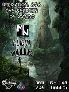 Operation 808 ft. Mike Wlkr, Flight and Bruuuce @ Gabe's
