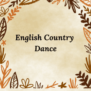 English Country Dance @ The Senior Center